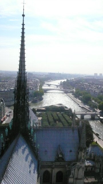 Seine From Tower